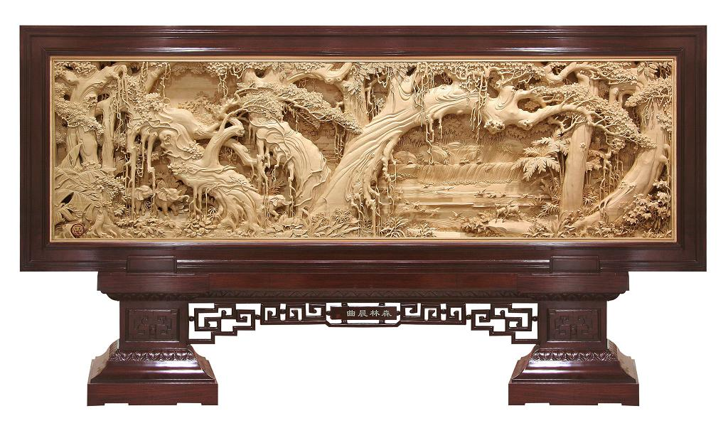 wood carving 3 large