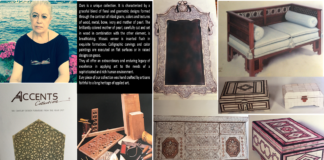 Picture 1: Carpenter shop Picture 2: Wood sanding Picture 3: Veneering; Picture 4: Painting; Picture 5: Upholstery Picture 6: Productions of the Atelier of Dr. Dalal Makki