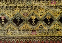 Detail of Chiang Mai Tin Chok From Songsak P and Patricia (1990). Lan Na Textiles : Yuan Lue Lao.