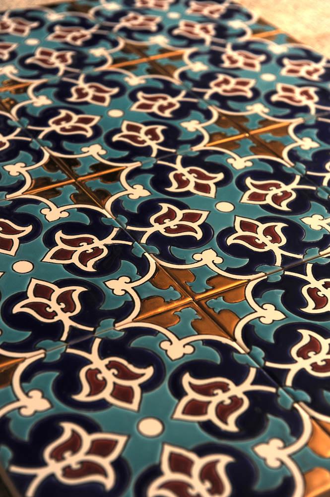 Kashi (tile) making