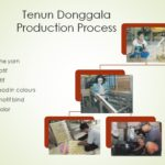 Tenun Donggala production process