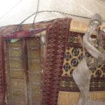 The yurt made by Tajmurad Mukhamedov in 2008. Design – by Gulnara Mamedova. Mary province, Daikhan Birleshik. 2017
